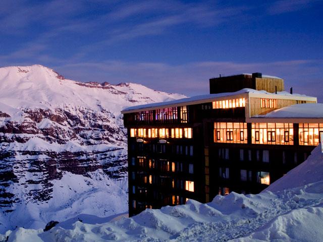 hospedagem, hoteis, valle nevado, chile, ski