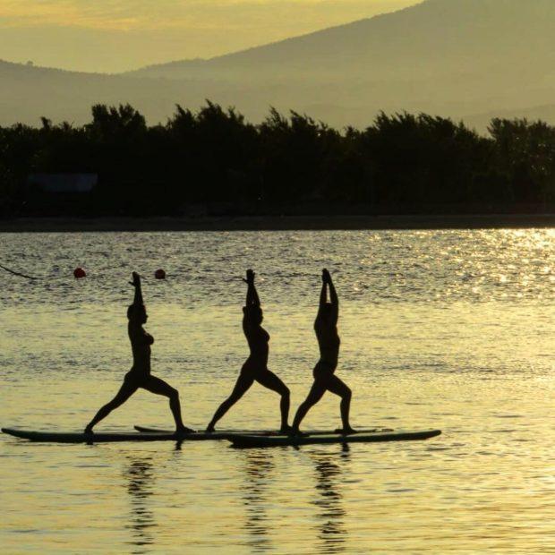 como é fazer yoga em Bali