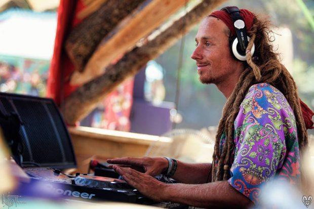 Anoebis vem da Bélgica para tocar psy trance no Bairro do Recife. Foto: Lost Theory