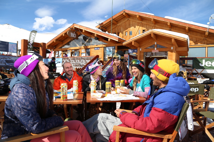Restaurantes do Valle Nevado