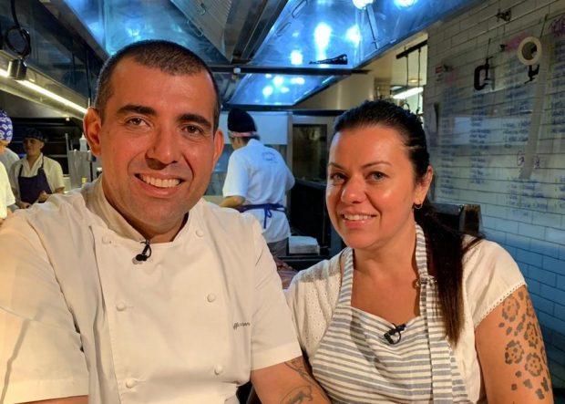 Jefferson e Janain Rueda / Foto: Maria Vargas, onde os chefs comem