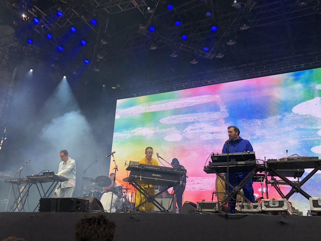 Hot Chip / Foto: @tavapassando
