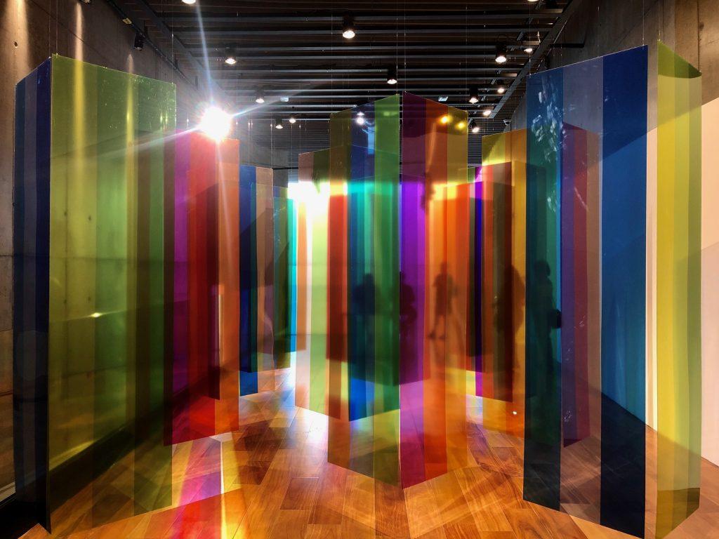 Cruz Diez, Porto Seguro, Exposições de arte em São Paulo