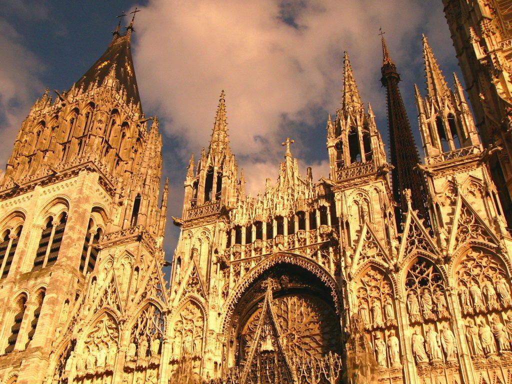 Catedral Notre-Dame de Rouen, Roteiro Normandia, França