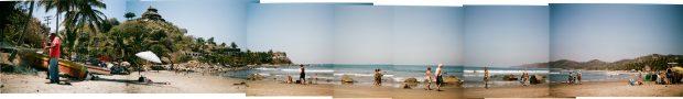 Panorama da bela Sayulita Riviera Nayarit