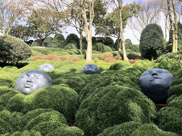 Les Jardins de Étretat, Normandia, França