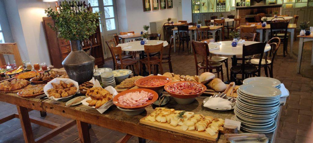 Café da manhã no Hotel Barrocal, Alentejo