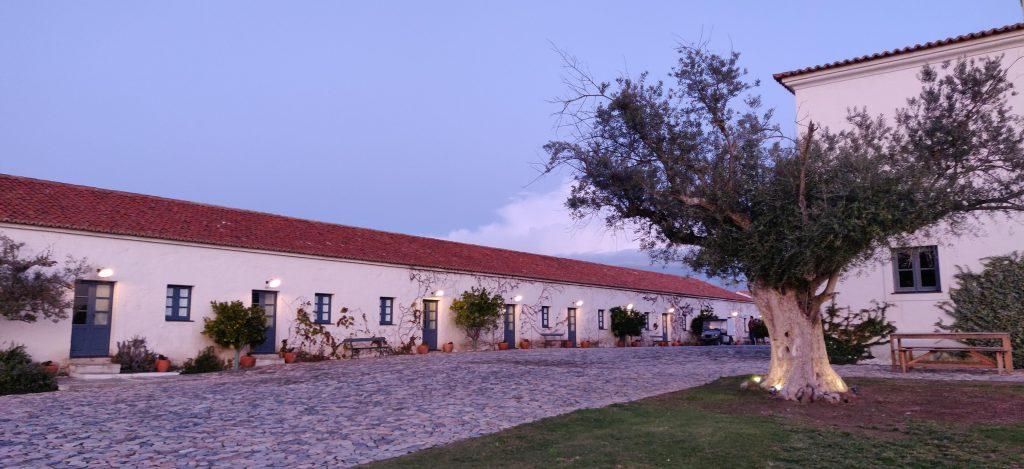 Vista da comunidade do Hotel São Lourenço do Barrocal.