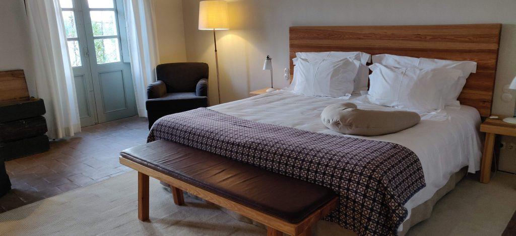 Luxo e conforto nos quartos do Barrocal