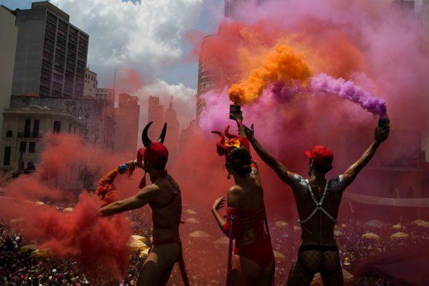Carnaval de rua São Paulo, Tarado Ni Você, blocos