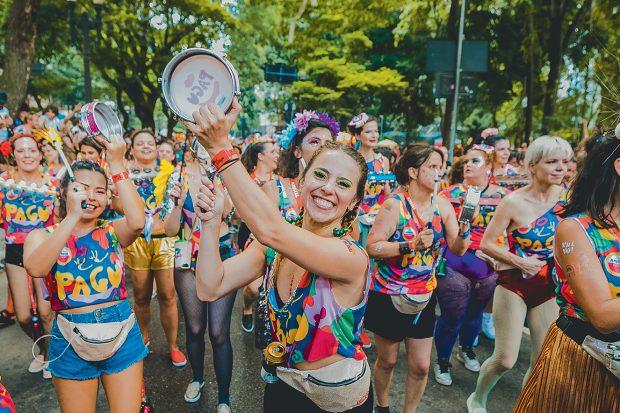 Carnaval de rua São Paulo 2020, Bloco Pagu