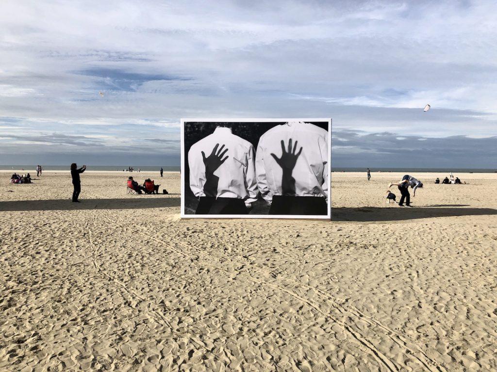 Planche(s) Contact, exposição de fotografia, praia