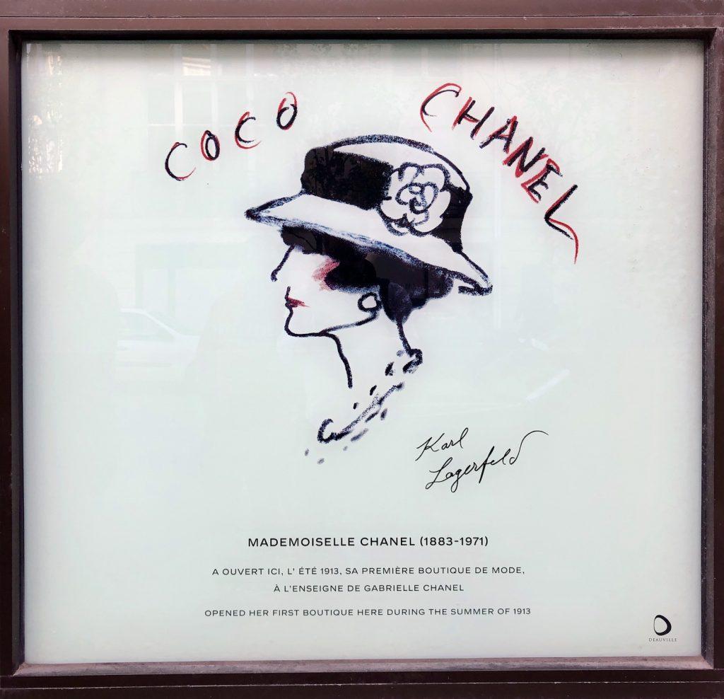 Coco Chanel, Deauville, França, Normandia