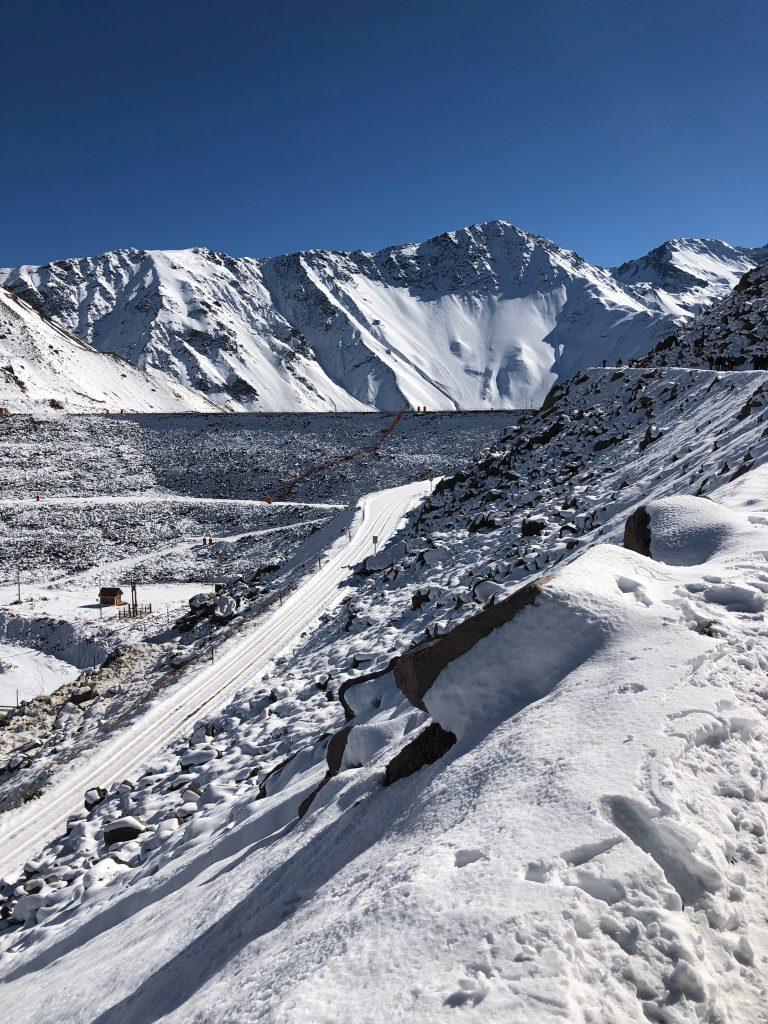 Cajón del Maipo, Chile, Andes, neve