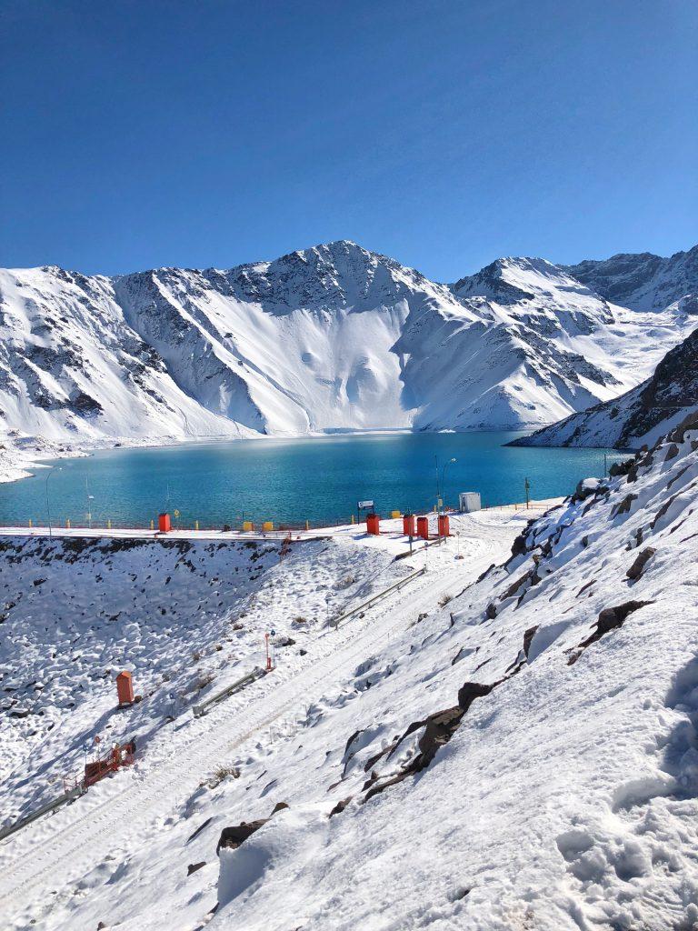Embalse el Yeso, Chile.
