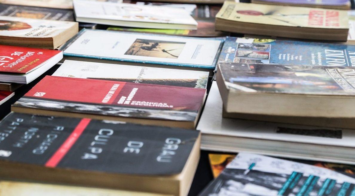 Feira de troca de livros / Foto: divulgação