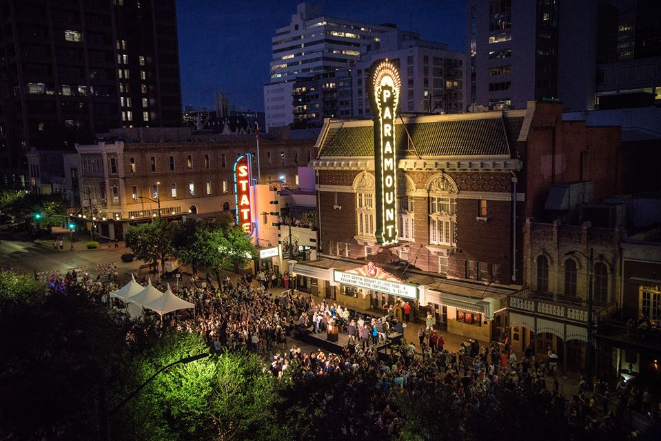 Paramount Theatre, uma das venues mais charmosas do SXSW Film Festival. Foto: FB do Paramount Theatre