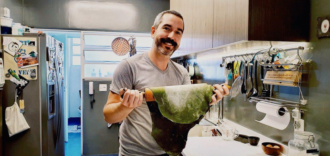 Curso de culinária com uma família italiana através do Airbnb Online Experiences
