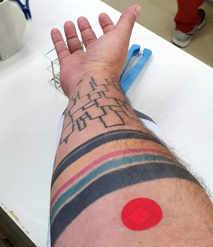 Doação de sangue na Fundação Pró-Sangue em São Paulo
