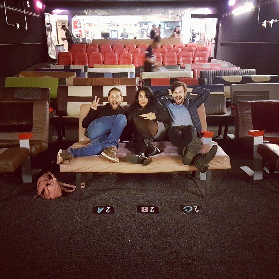 O Drive-in Belas Artes foi uma experiência que simulava os cinemas drive-in dentro de uma sala comum.