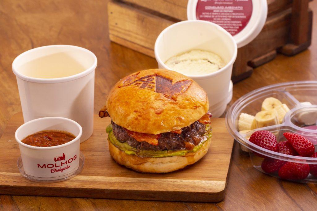 Raclette Burger do Chalezinho para o Gourmet Experience do iFood