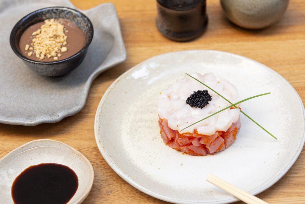 Tartare de atum do Kitchin para o Gourmet Experience do iFood