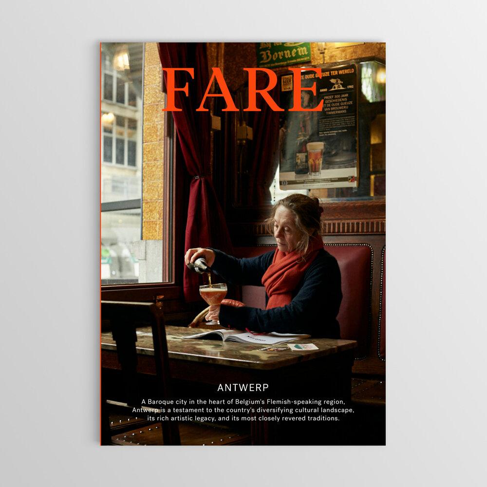 revistas de viagem: Fare Magazine