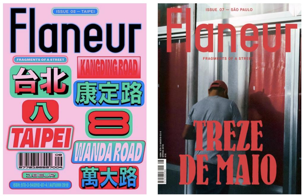 revistas de viagem: Flaneur Magazine