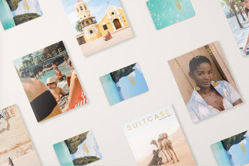 revistas de viagem: suitcase magazine