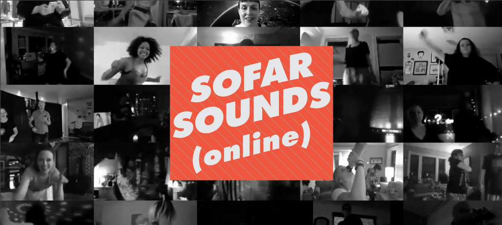 Festival Sofar Sounds Online acontece nesse domingo, 18.10