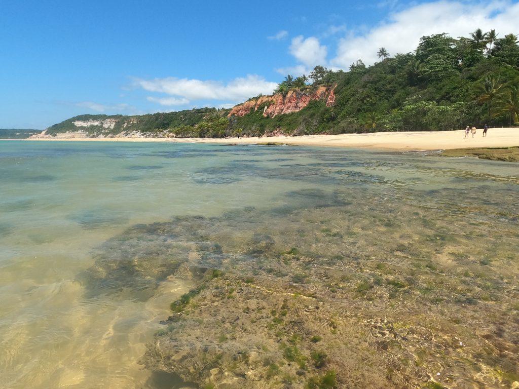 Toda viagem de carro para a Bahia tem passagem garantida pela Praia do Espelho