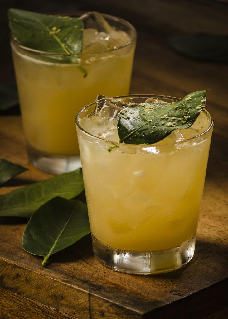 O drink Sao Salvador é servido no Maga Restaurante, no Rio Vermelho.