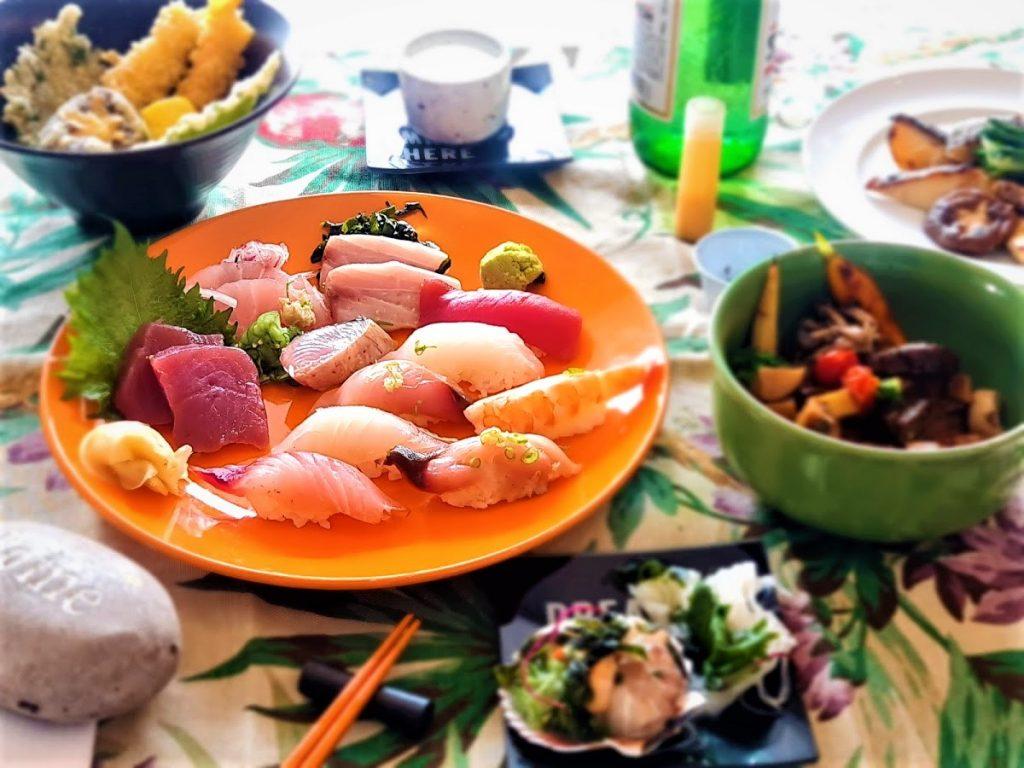Omakase do Aizomê para o menu em casa.