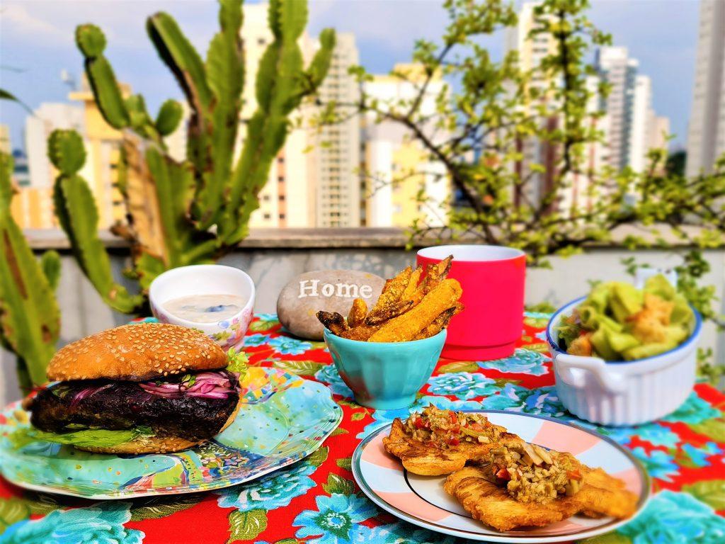 Carmelia Ododo pro menu vegetariano em casa por @entaovah