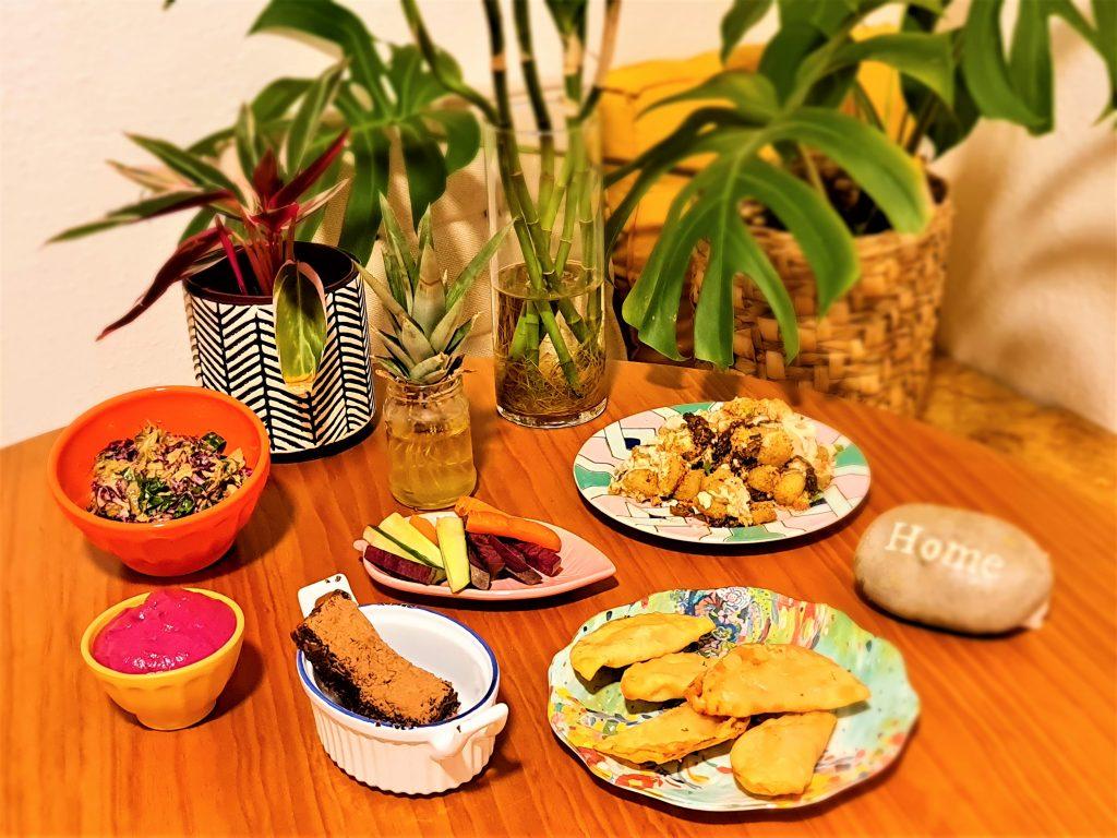Melhores menus vegetarianos de São Paulo: Cajuí Brasil pro menu em casa por @entaovah
