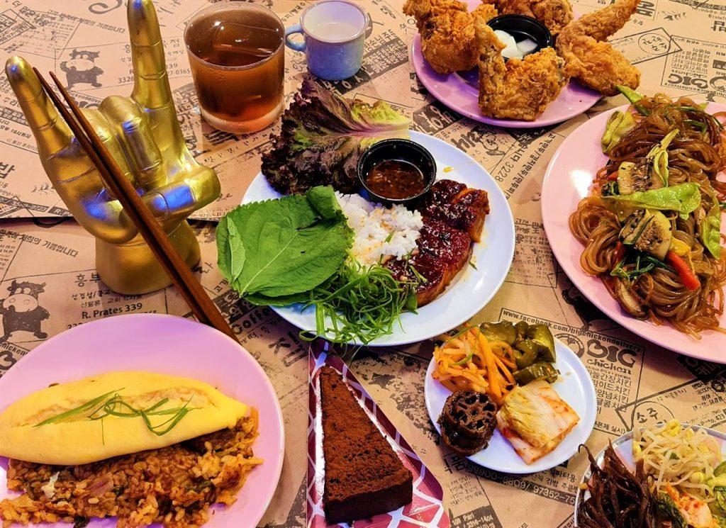 Homah no menu em casa.