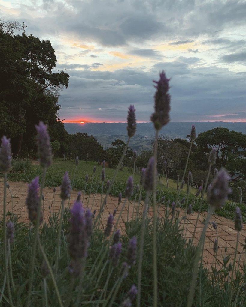 A vista da Serra da Mantiqueira - foto: Paola di Buono