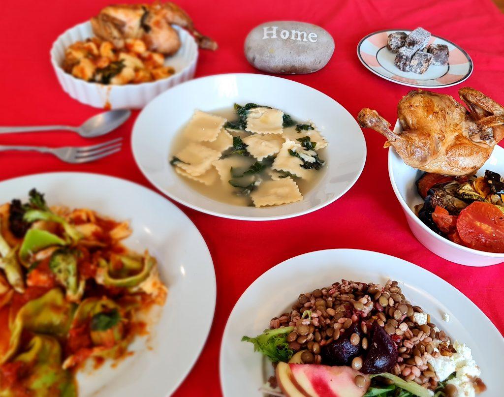 Portinhola para o menu em casa - Restaurantes europeus com delivery em São Paulo