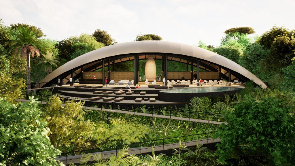 Mirante do Madadá - A Casa Coletiva recebe todas as atividades sociais do complexo