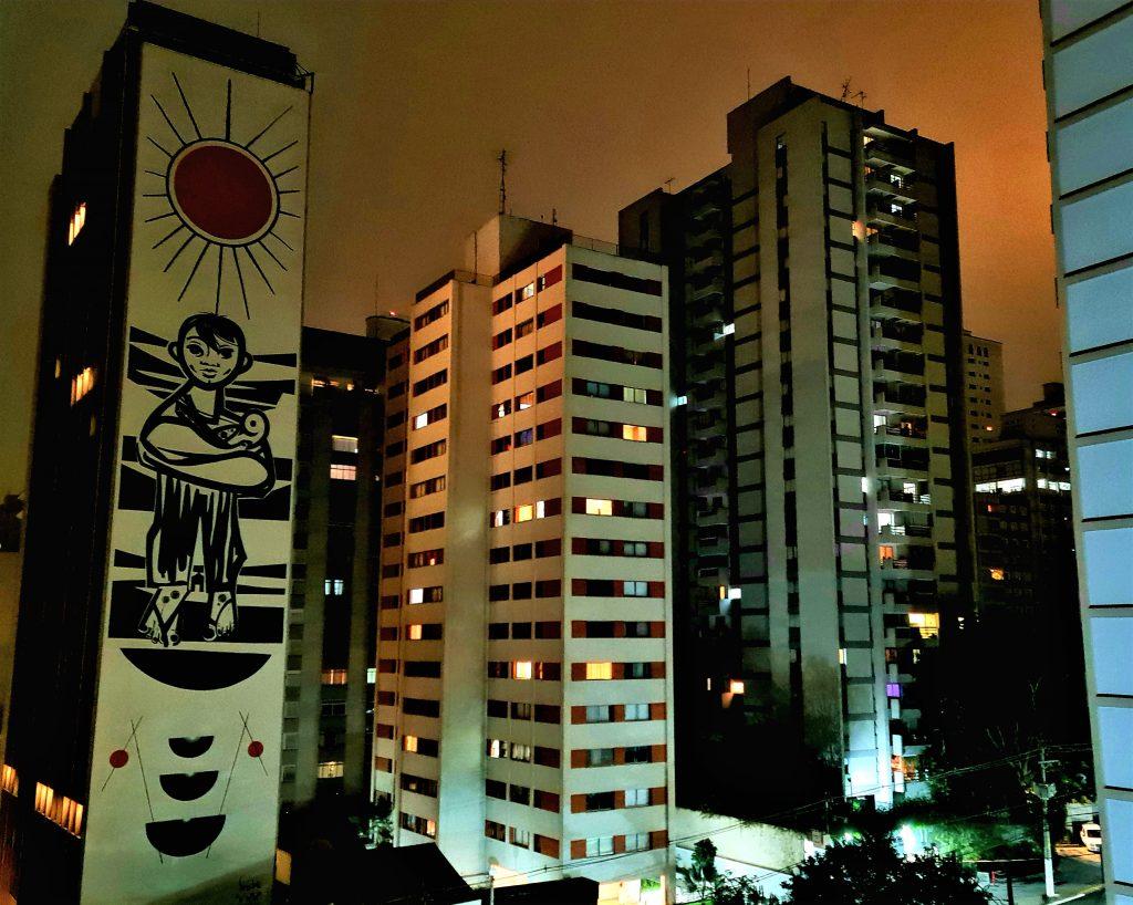 Mural do Speto no Canopy São Paulo