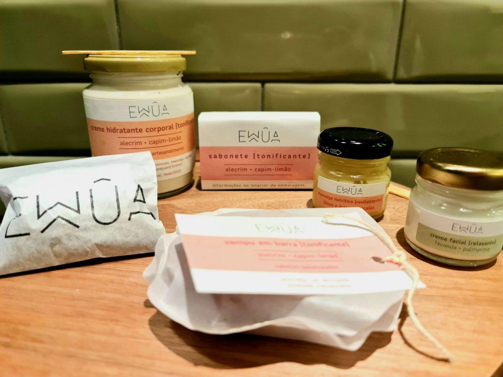 Ewua - marca de cosméticos preocupada com sustentabilidade e consumo consicente