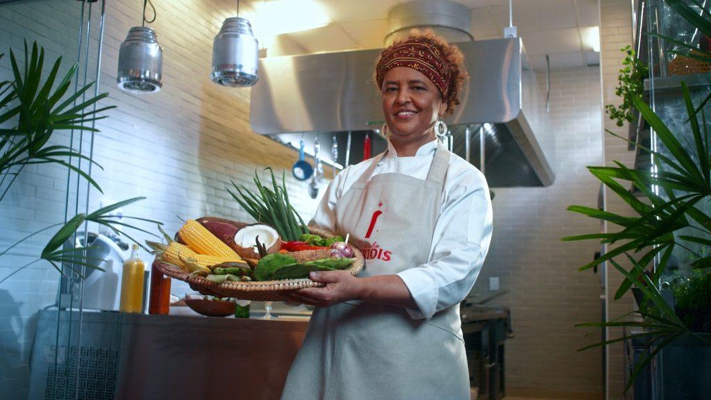 A chef Ieda de Matos - foto: Bruno Favery