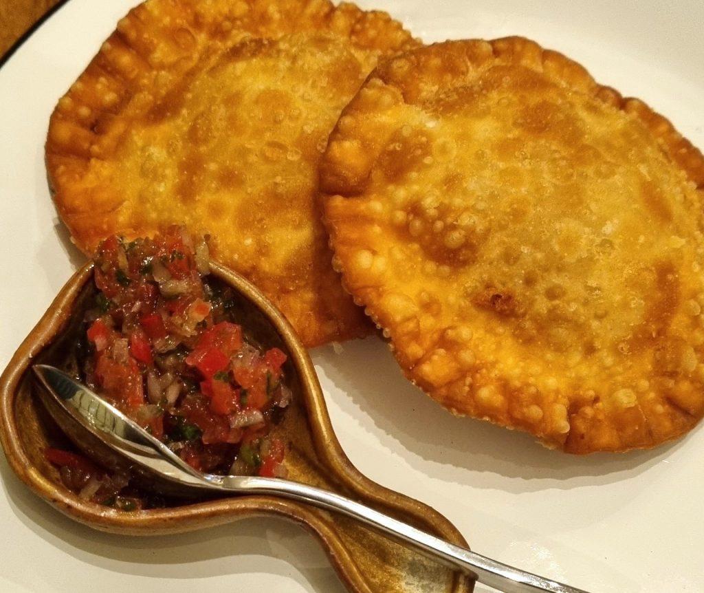 Pasteis de lagosta, frutos do mar, Naia Restaurante