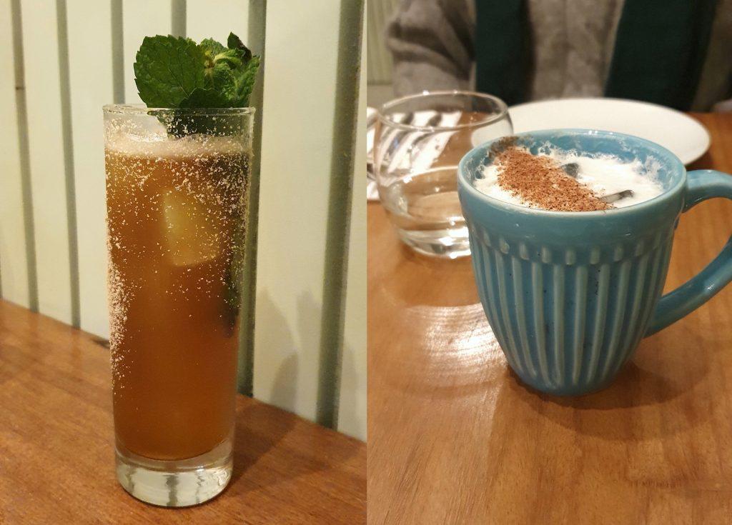 Drinks criados pelo Jean Ponce no Naia Restaurante