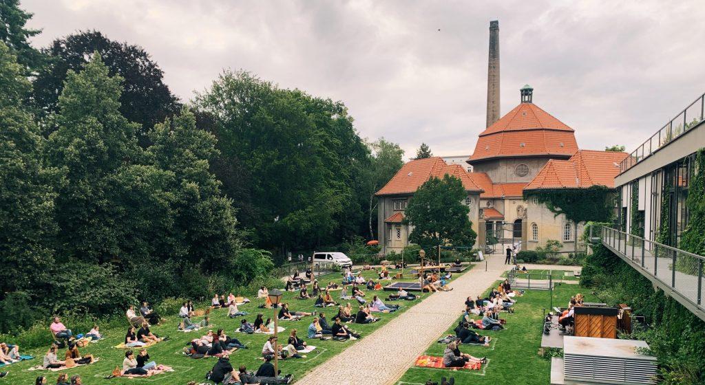 Silent Green, Wedding, Berlim. Foto: Lalai Persson
