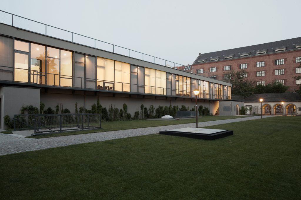 O prédio novo do Silent Green, Berlim. Foto: Peter Lorenz / Divulgação