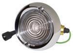 1961 Backup light assembly, chrome