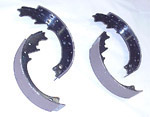 1965 Brake shoes, rear only