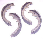1969 Brake shoes, front or rear