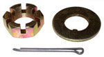 1970 Spindle nut, washer and pin (1 of each)